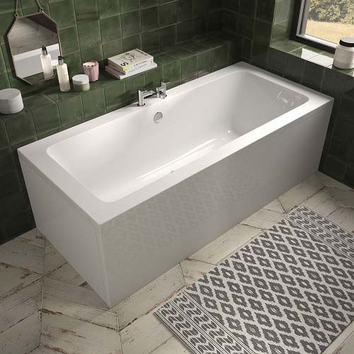 click on Aluna Double Ended Bath image to enlarge