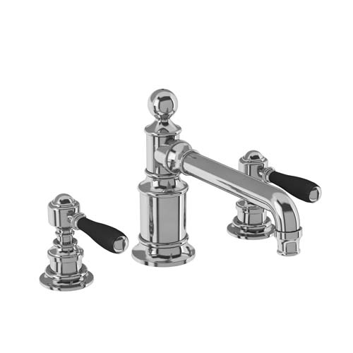 click on 3 Hole Deck Mounted Basin Mixer image to enlarge