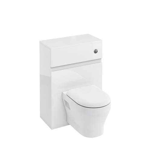 click on WC Unit with Flush Button for Back to Wall WC image to enlarge