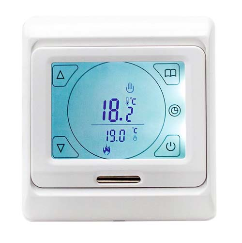 click on Touch Thermostat Control image to enlarge