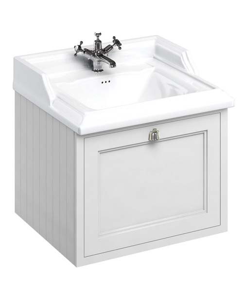 click on 65cm Vanity Unit with Drawer and Classic Basin image to enlarge