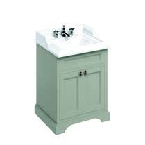 click on 65cm Vanity Unit with Two Doors and Classic Basin image to enlarge