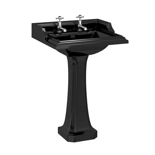click on Classic Square Basin and Pedestal image to enlarge