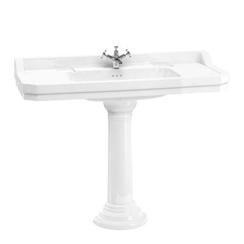 click on 120cm Basin and Pedestal image to enlarge