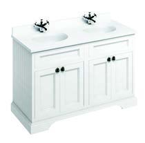 click on 130cm Vanity Unit with Four Doors and Worktop image to enlarge