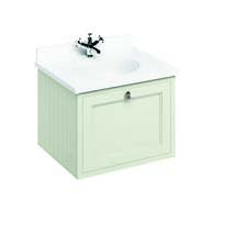 click on 65cm Vanity Unit with Drawer and Worktop image to enlarge