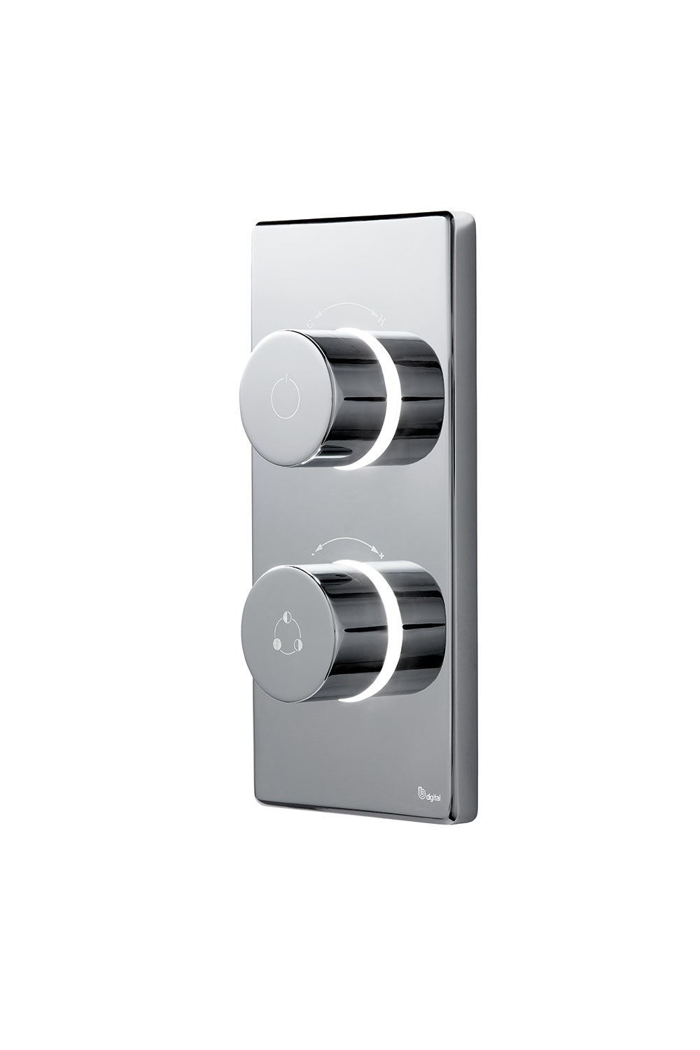 click on Dual Outlet Digital Shower Valve image to enlarge