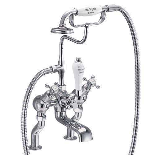click on Deck Mounted Angled Bath Shower Mixer image to enlarge
