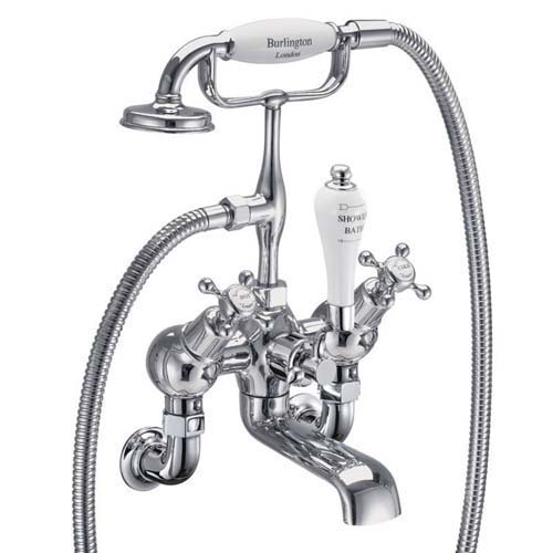click on Wall Mounted Angled Bath Shower Mixer image to enlarge