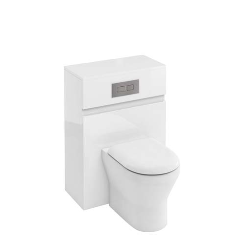click on Compact WC Unit with Flush Plate for Back to Wall WC image to enlarge