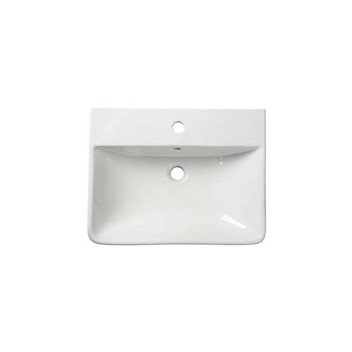 click on Thin Edge Semi-Recessed Basin Standard Depth image to enlarge