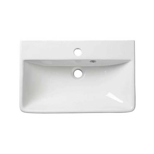click on Thin Edge Semi-Recessed Basin Slim Depth image to enlarge