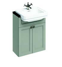 click on 60cm Semi-Recessed Basin Unit image to enlarge