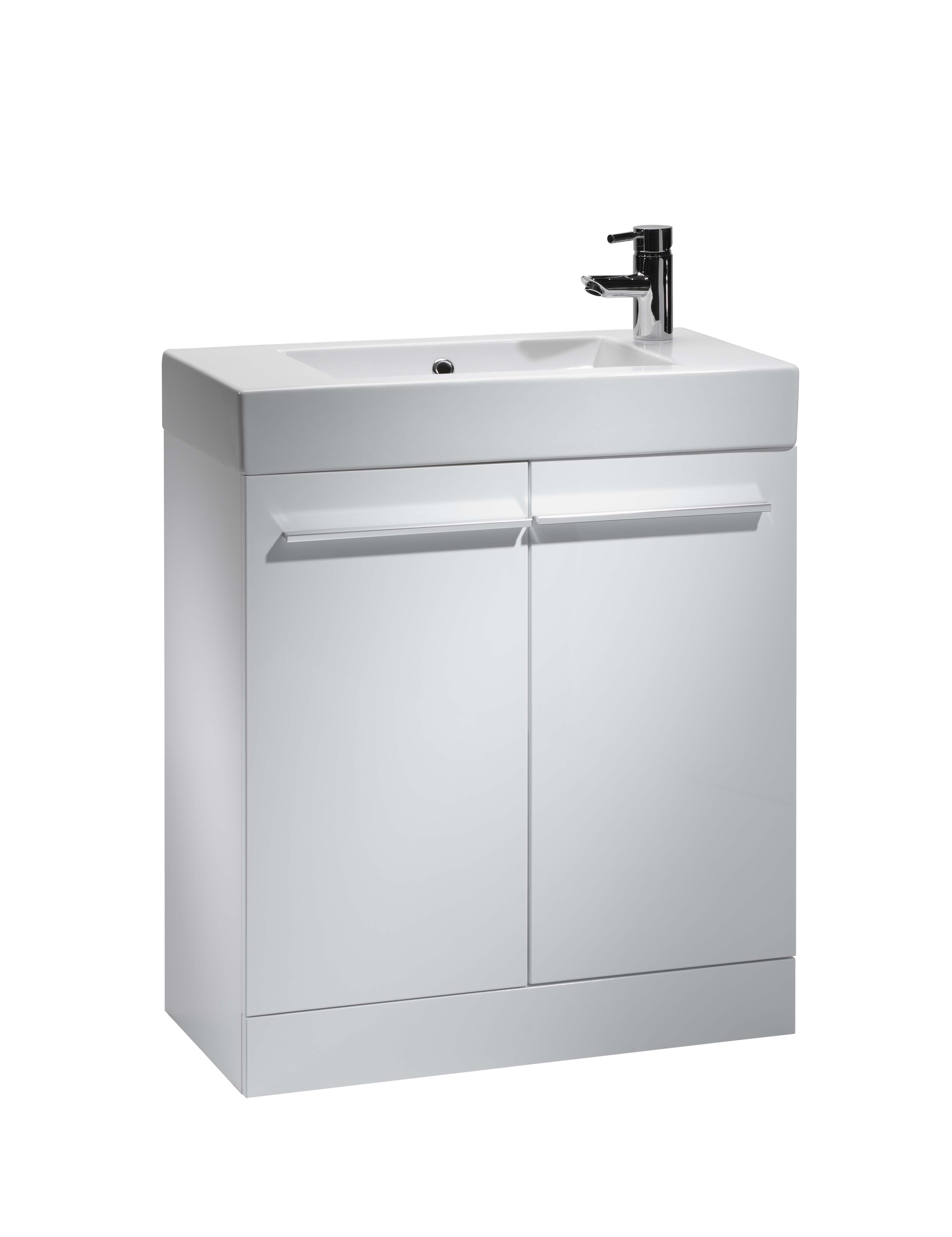 click on 70cm Floor Standing Vanity Unit image to enlarge