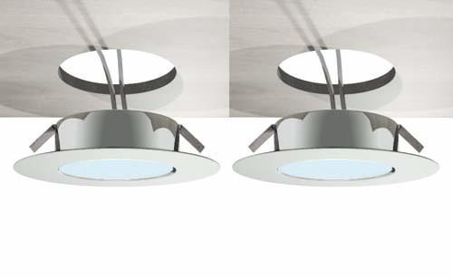 click on LED Downlights (pair) image to enlarge