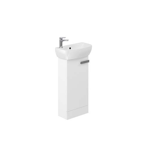 click on Floorstanding Vanity Unit for Cloakroom Basin image to enlarge