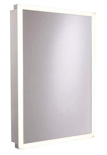 click on Nook One Door Mirror Cabinet image to enlarge