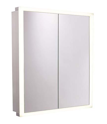 click on Nook Two Door Mirror Cabinet image to enlarge