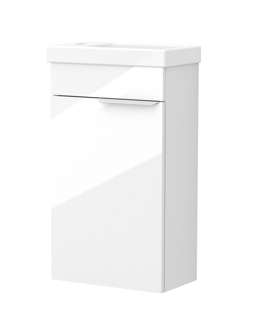 click on 40cm Wall Hung Cloakroom Unit image to enlarge