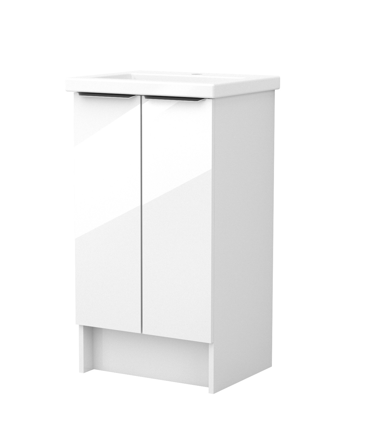 click on 50cm Floorstanding Double Door Unit image to enlarge