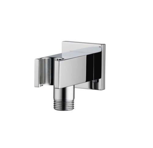 click on Square Wall Outlet with Integral Handshower Holder image to enlarge