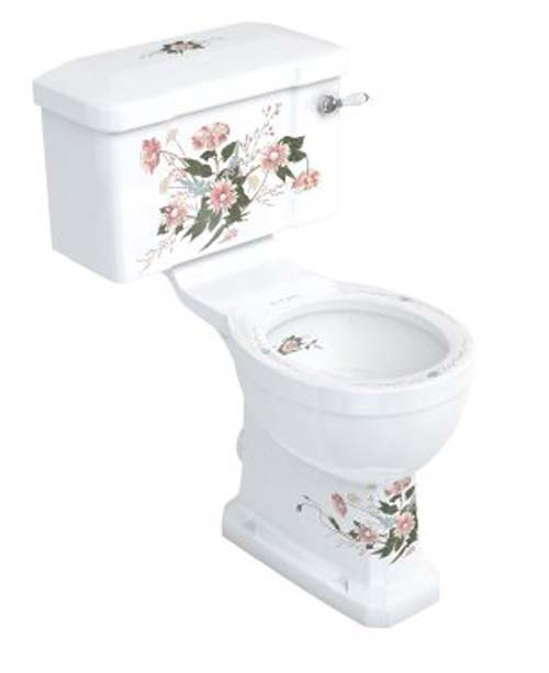 click on English Garden Close Coupled WC Suite image to enlarge