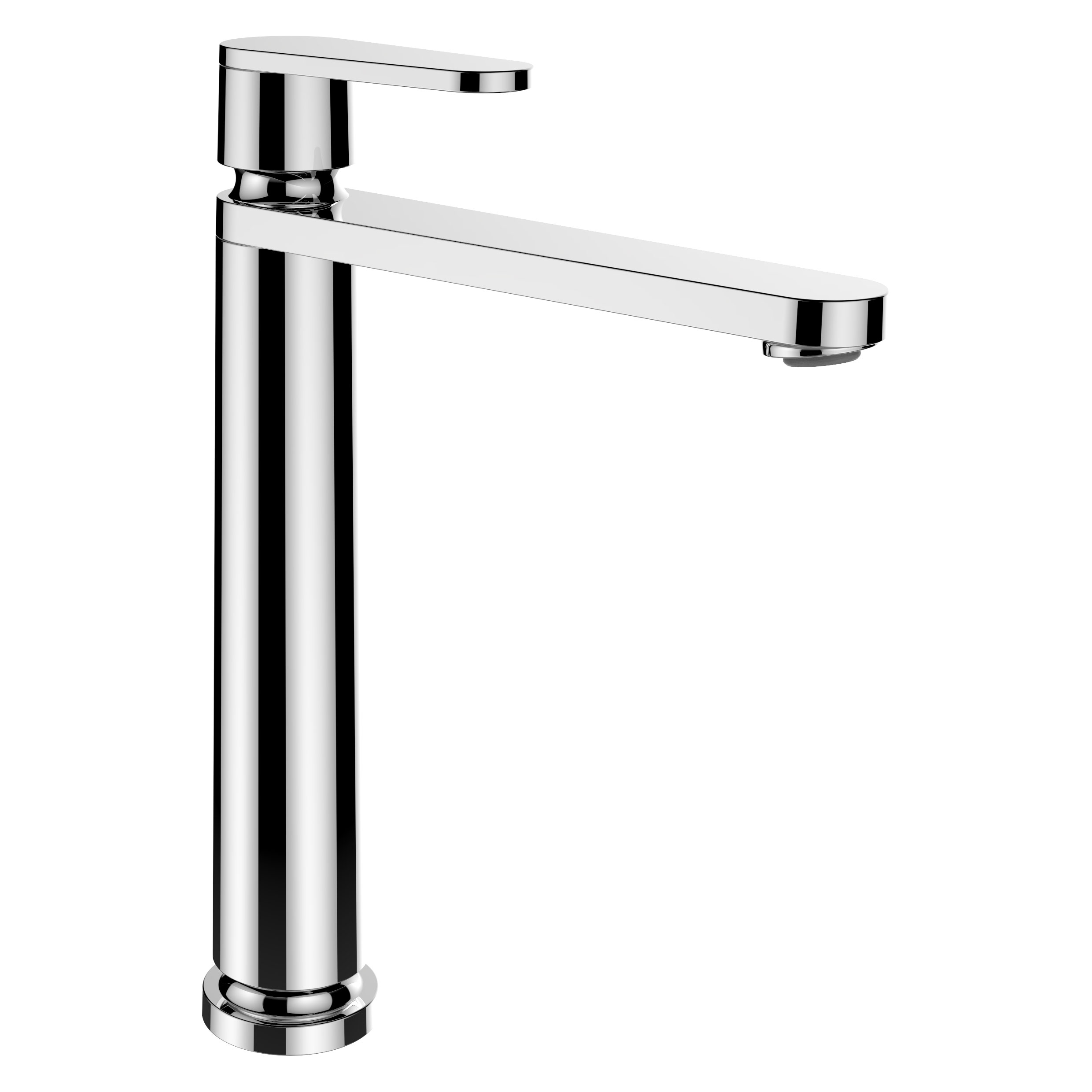 click on Tall Basin Mixer - 175mm Spout image to enlarge