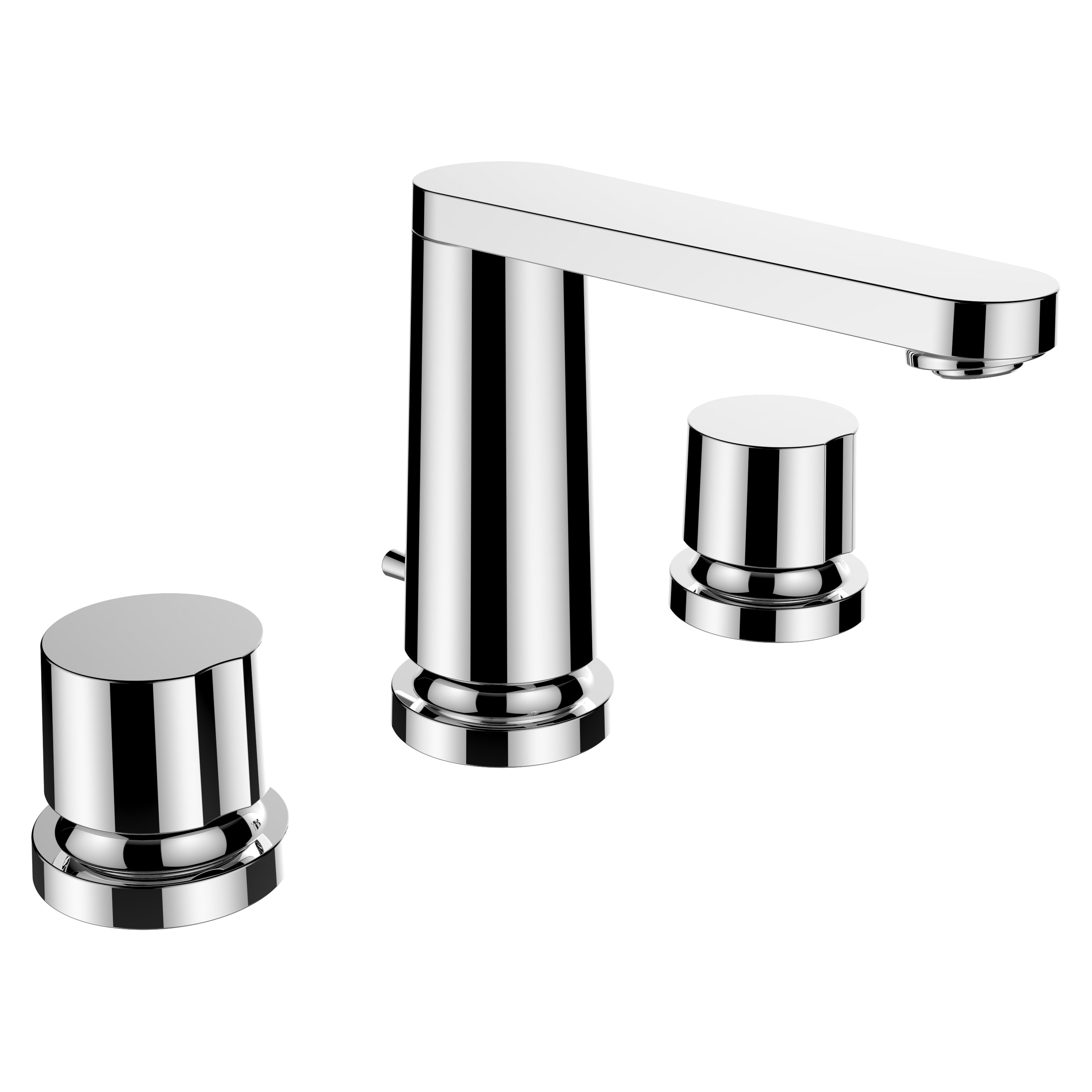 click on 3 Hole Basin Mixer - 130mm Spout image to enlarge