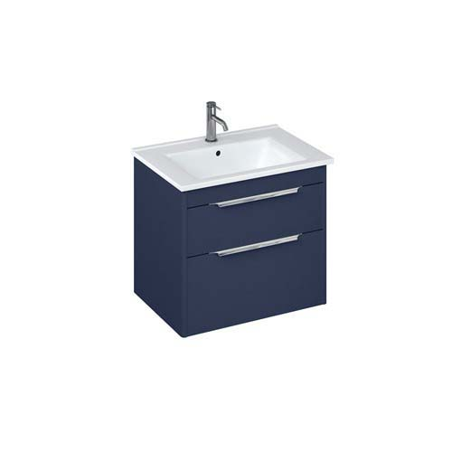 click on Wall Hung Vanity Unit with Two Drawers image to enlarge