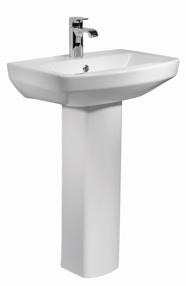 click on 55cm Basin and Pedestal image to enlarge