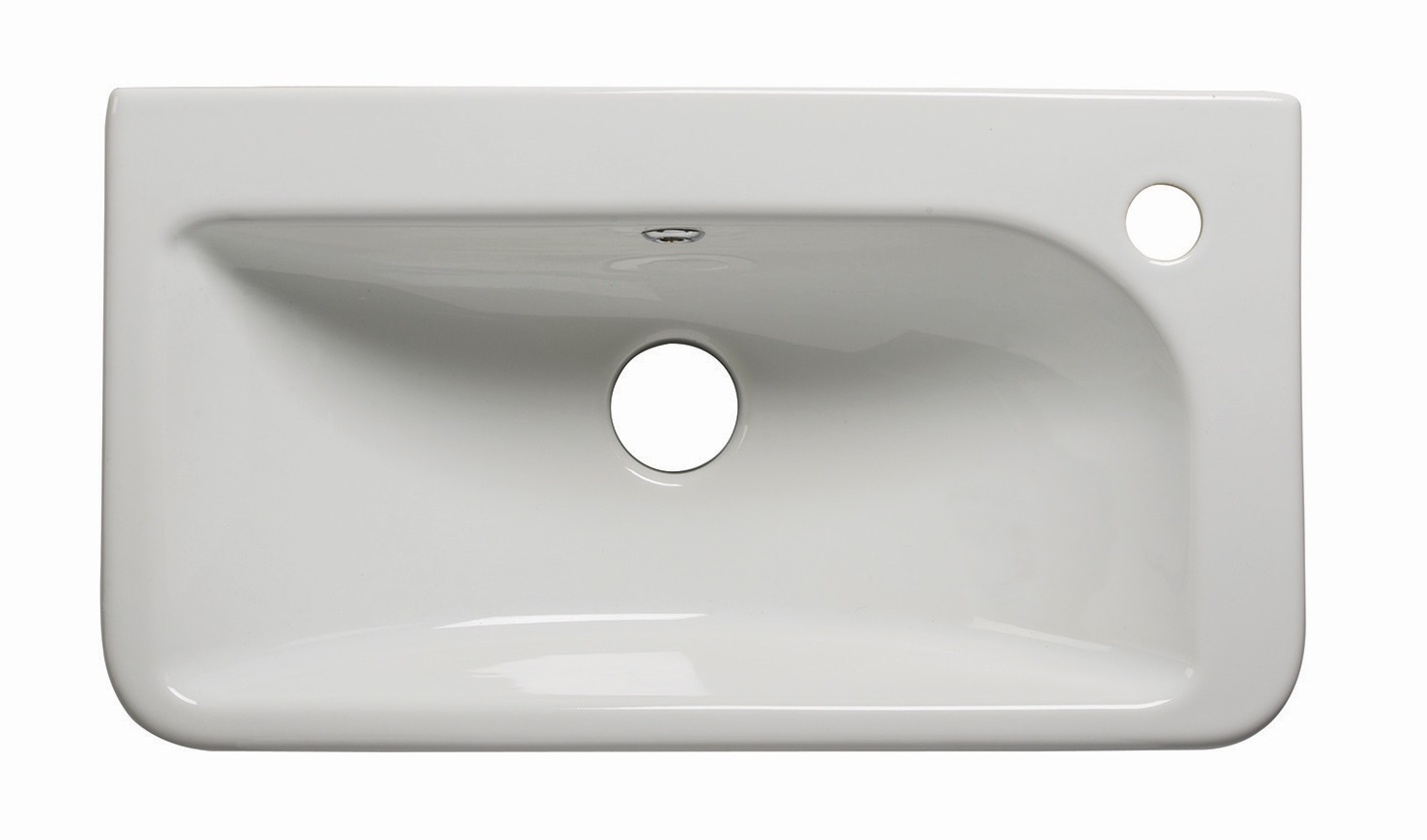 click on Slim Semi Recessed Basin image to enlarge