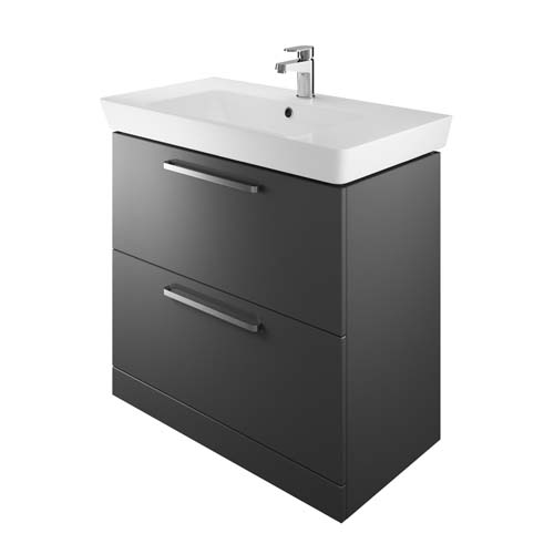 click on 80cm Floorstanding Vanity Unit image to enlarge