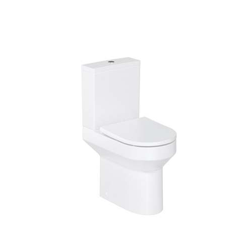 click on Round Rimless Close Coupled WC image to enlarge
