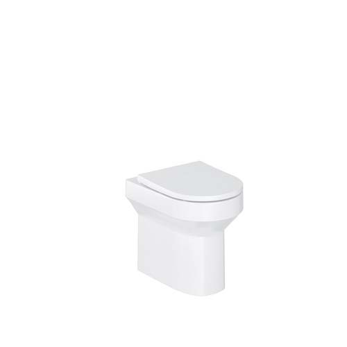 click on Round Rimless Back to Wall WC image to enlarge
