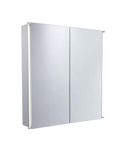 click on Sleek Two Door Mirror Cabinet image to enlarge