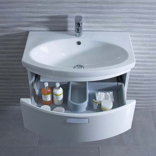 click on 65cm Wall Hung Vanity Unit image to enlarge
