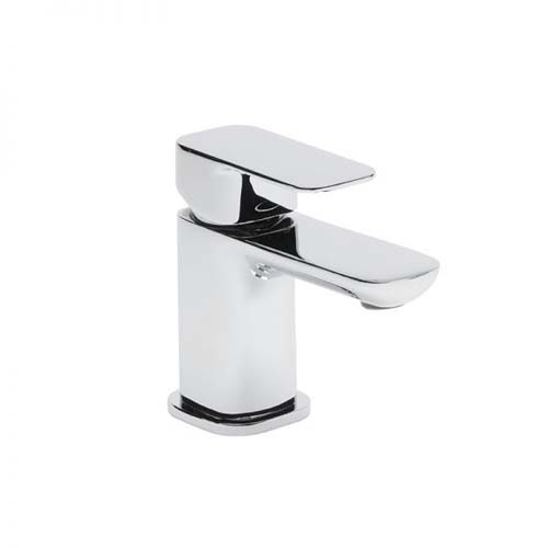 click on Mini monobloc basin mixer with click waste image to enlarge