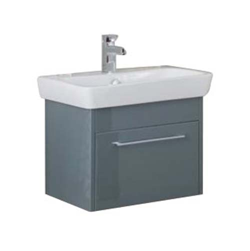 click on 60cm Basin Unit with One Drawer image to enlarge