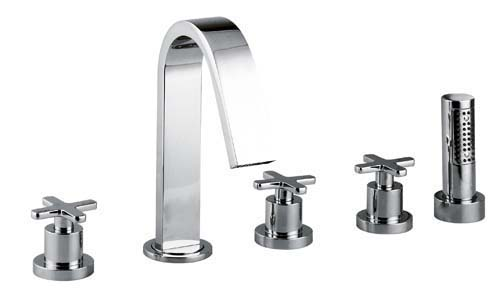 click on 5 Hole Bath Shower Mixer image to enlarge