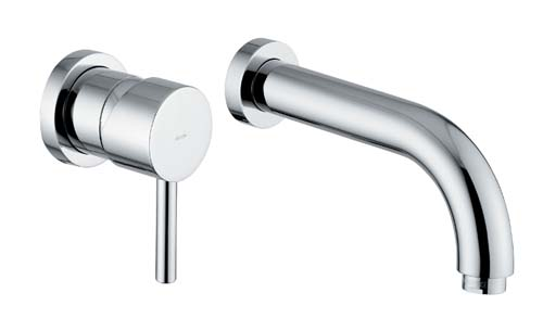 click on Wall Mounted 2 Hole Basin Mixer image to enlarge