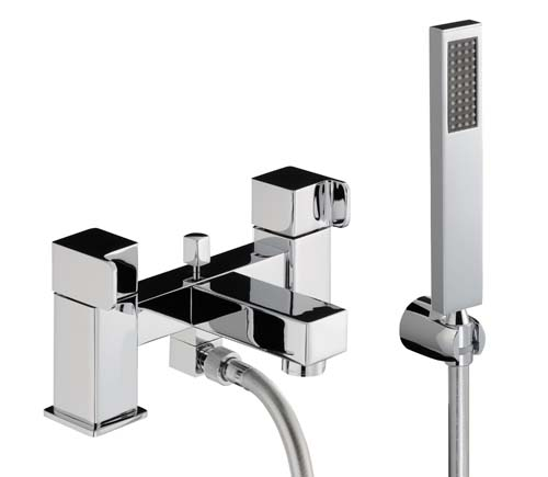 click on Deck Mounted Bath Shower Mixer image to enlarge