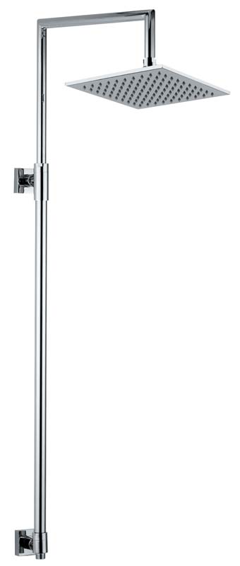 click on Square Exposed Rigid Riser with 200mm Square Showerhead image to enlarge