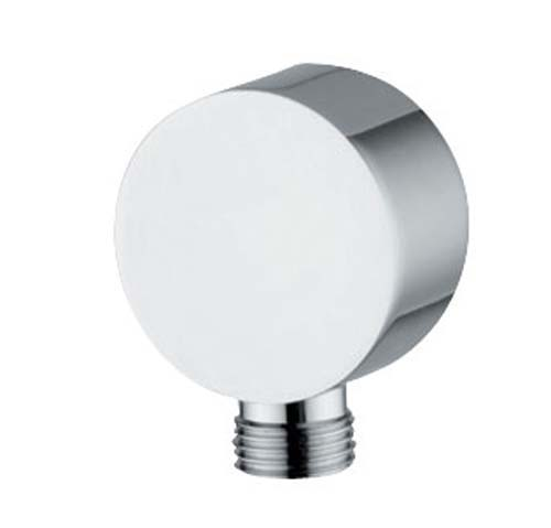 click on Circular Wall Outlet Chrome image to enlarge