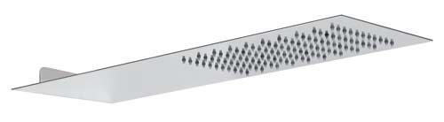 click on Wall Mounted Showerhead - Square Edge image to enlarge