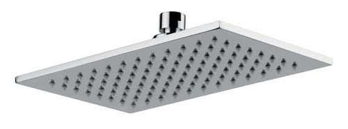 click on Rectangular Showerhead - 250mm x 150mm image to enlarge