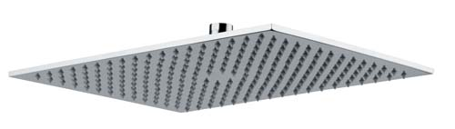 click on Rectangular Showerhead - 400mm x 300mm image to enlarge