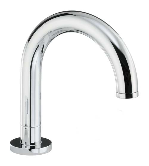 click on Round Deck Mounted Bath Spout image to enlarge