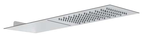 click on Wall Mounted Waterfall Showerhead image to enlarge