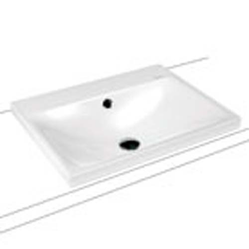click on Silenio Countertop Basin image to enlarge