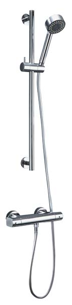 click on Wall Mounted Thermostatic Showers image to enlarge